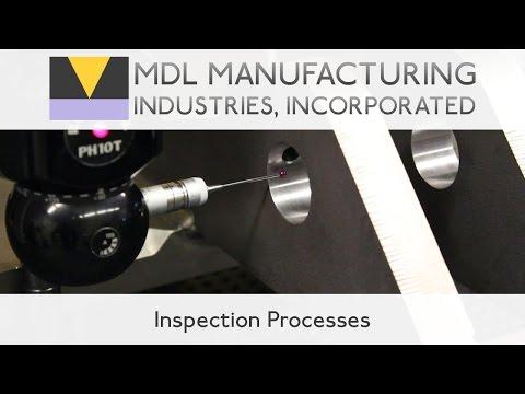 Inspection Processes - Faro Arm, Faro Laser Tracker, Brown & Sharpe System