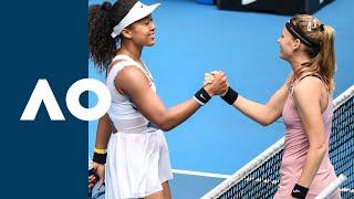 Naomi Osaka vs Marie Bouzkova - Extended Highlights (R1) | Australian Open 2020