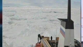 Morale high on ship stuck off Antarctica