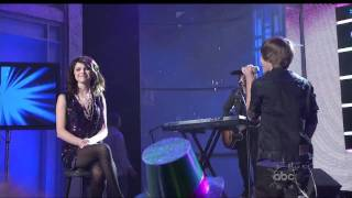 Justin Bieber   One less lonely girl Live