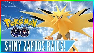 WORLD'S FIRST EVER ZAPDOS DAY IN POKEMON GO! Shiny Zapdos Released Plus 10 Free Raid Passes!