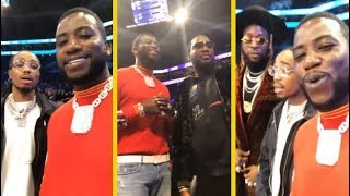 Gucci Mane Slam Dunk Contest With Meek Mill, Quavo, 2 Chainz & More!