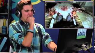 OUTLAST JUMPSCARE COMPILATION (TEENS REACT)