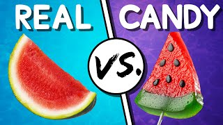 We Try the Ultimate Real vs Candy Challenge #5