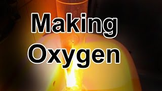 How to make Oxygen gas