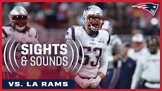 Sights and Sounds of Super Bowl LIII: On the sidelines of Patriots vs. Rams