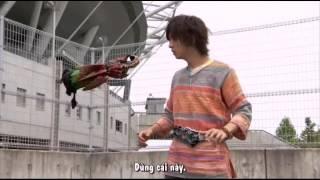 Kamen Rider OOO (henshin and finish)