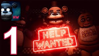 FNAF Help Wanted Mobile - Gameplay Walkthrough Part 1 - Tutorial (iOS, Android)