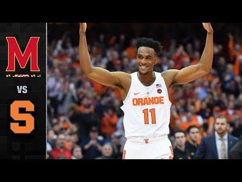 Maryland vs. Syracuse Basketball Highlights (2017)