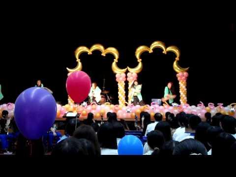 高雄市立三民高中第16屆畢業典禮 熱舞社表演2