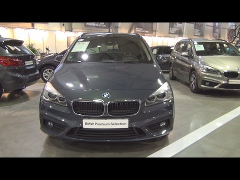 BMW 220d Gran Tourer (2016) Exterior and Interior in 3D