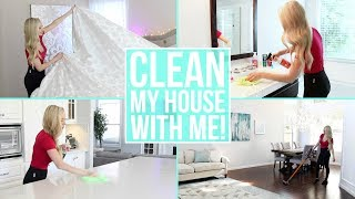 CLEAN MY ENTIRE HOUSE WITH ME! Cleaning Motivation!