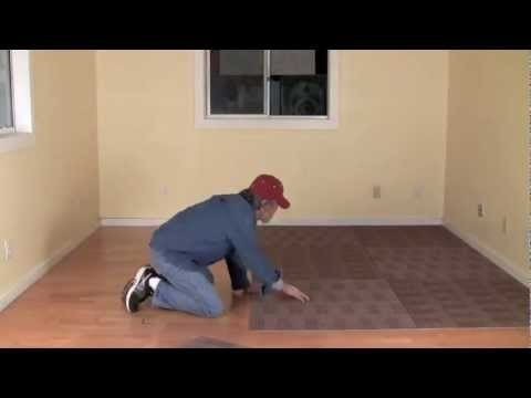 What are carpet tiles? And how to install them yourself