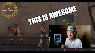 Ninja REACTS to FORTNITE Finesse Recreation!