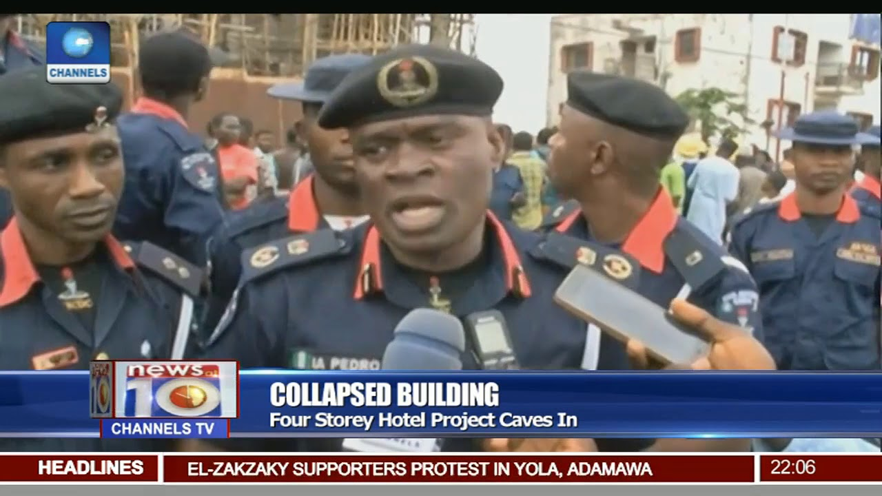 Addressing The Unending Scourge Of Building Collapse 18/08/17 Pt 1
