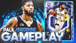 GALAXY OPAL PAUL GEORGE GAMEPLAY! HE IS THE BEST CARD IN THE GAME! NBA 2K19 MYTEAM