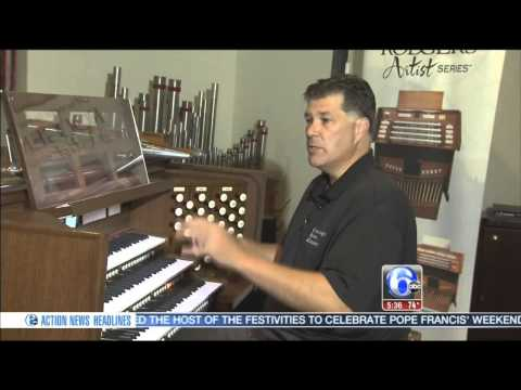 Action News on the Organ for Pope Francis