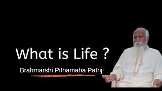 Series#20 - What is Life ? - Brahmarshi Patriji