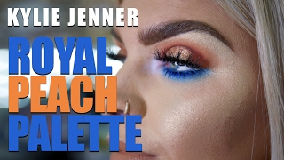 KYLIE JENNER ROYAL PEACH PALETTE | Tutorial by Official Pout