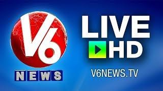 V6 Telugu Live News Channel | V6 Live TV