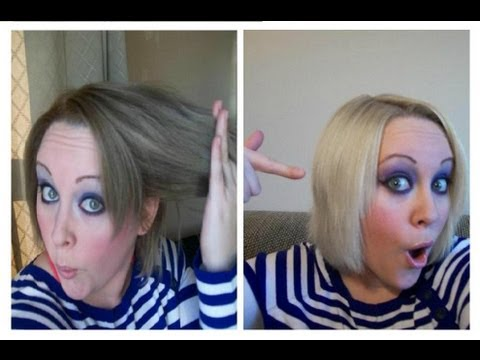 Remove Hair Dye No Bleach Low Damage Great Results
