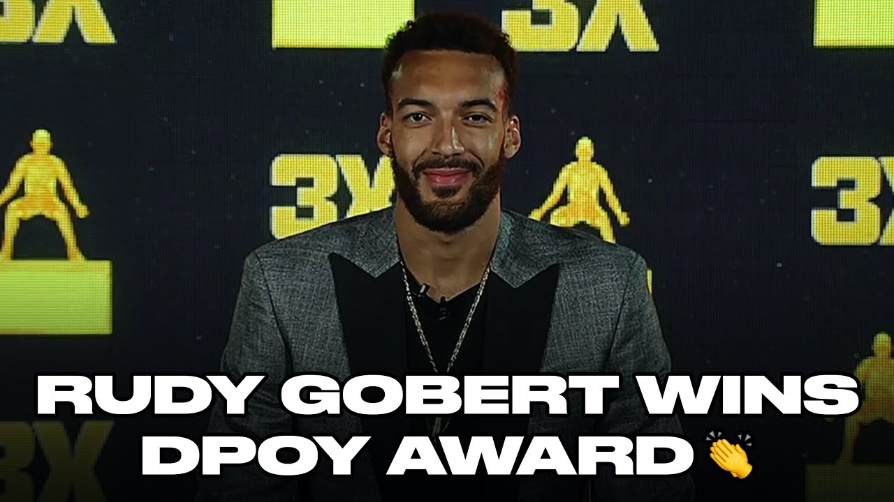 Rudy Gobert Becomes Fourth Player To Win DPOY Award Three Times