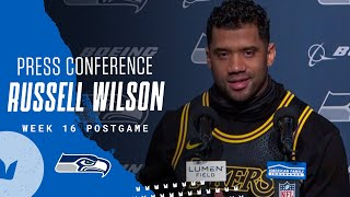 Russell Wilson Week 16 Postgame 2020 Press Conference vs Rams
