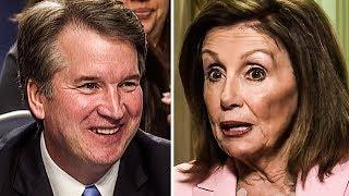 Nancy Pelosi Says Democrats WILL NOT Impeach Brett Kavanaugh