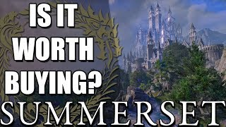Is ESO: Summerset Worth Buying? (Elder Scrolls Online Summerset Review)