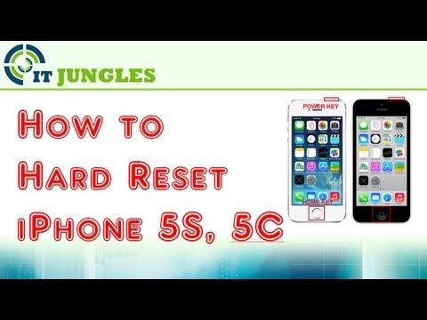 iphone reset 5s