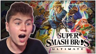 Super Smash Bros. Ultimate Reveal REACTION - Zeltik