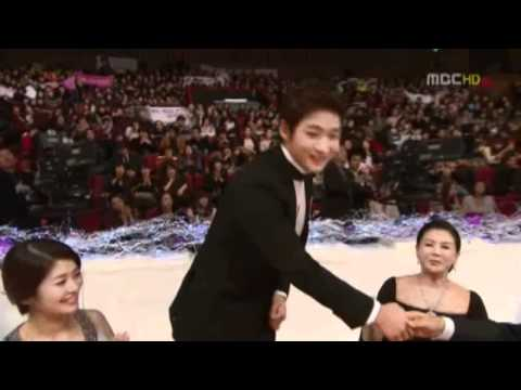 Minjoong at MBC Awards 2010