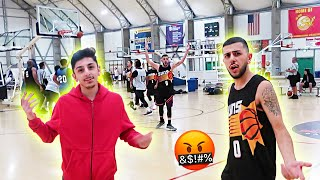FaZe RUG MOCKING BRAWADIS DURING BASKETBALL GAME! *PISSED OFF*