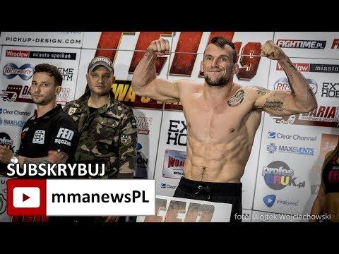 FEN 19: Michał Michalski wykorzystał przerwę do szlifowania fighterskich umiejętności