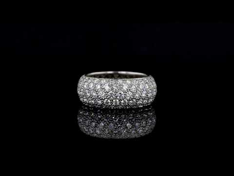 Tiffany Etoile 5-Row Pavé Diamond Band Ring
