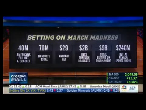 CNBC: According to AGA, Americans Will Wager Approximately $9 Billion on March Madness