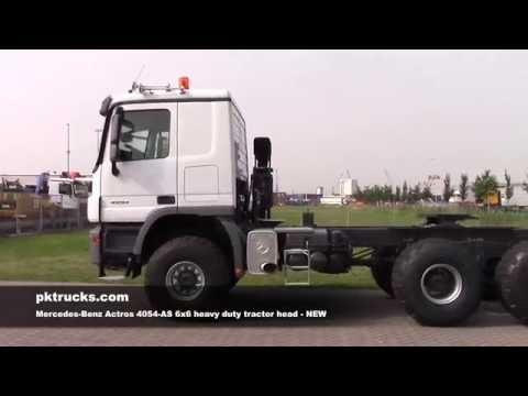 me3778 Mercedes 4054-AS 6x6 tractor head