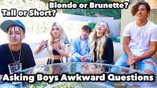 Asking Boys Awkward Questions!! Coco Quinn