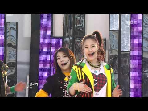 F(X) - Chu~♡, 에프엑스 - 츄~♡, Music Core 20091205
