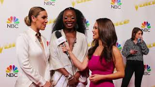 Team Alicia Keys REVEAL Her SECRET To Success & Talks The Voice FASHION!