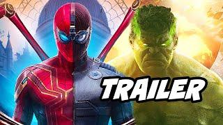 Spider-Man Far From Home Trailer - Avengers Scene Extended Footage Easter Eggs Breakdown