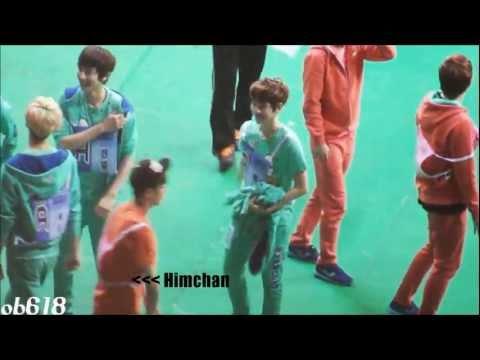 130128 Baekhyun & Himchan dancing to MAMA @ ISAC 2013 [FANCAM]