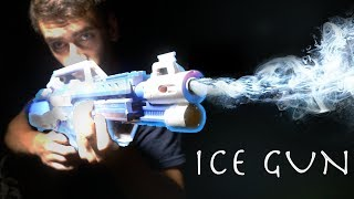 How To Make an ICE GUN! - MR FREEZE BLASTER!!! (Simple Super Hero Weapon!)