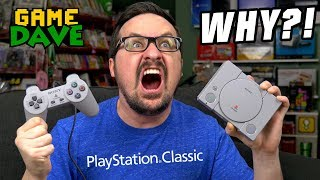 Why Did I Buy the PlayStation Classic?! | Game Dave