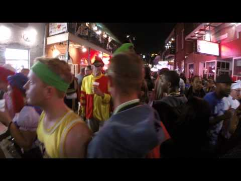 Bourbon Street Halloween 2014