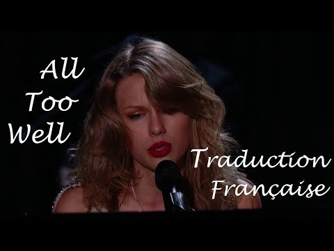 Taylor Swift - All Too Well (Grammy Awards) Rehearsal (Traduction Française)