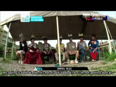 INFINITE Funny 'Lucky Sense' Game Ranking King Ep13 (eng sub)