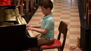 Zachary-June 2018 Spring Recital Park Slope Music Lessons