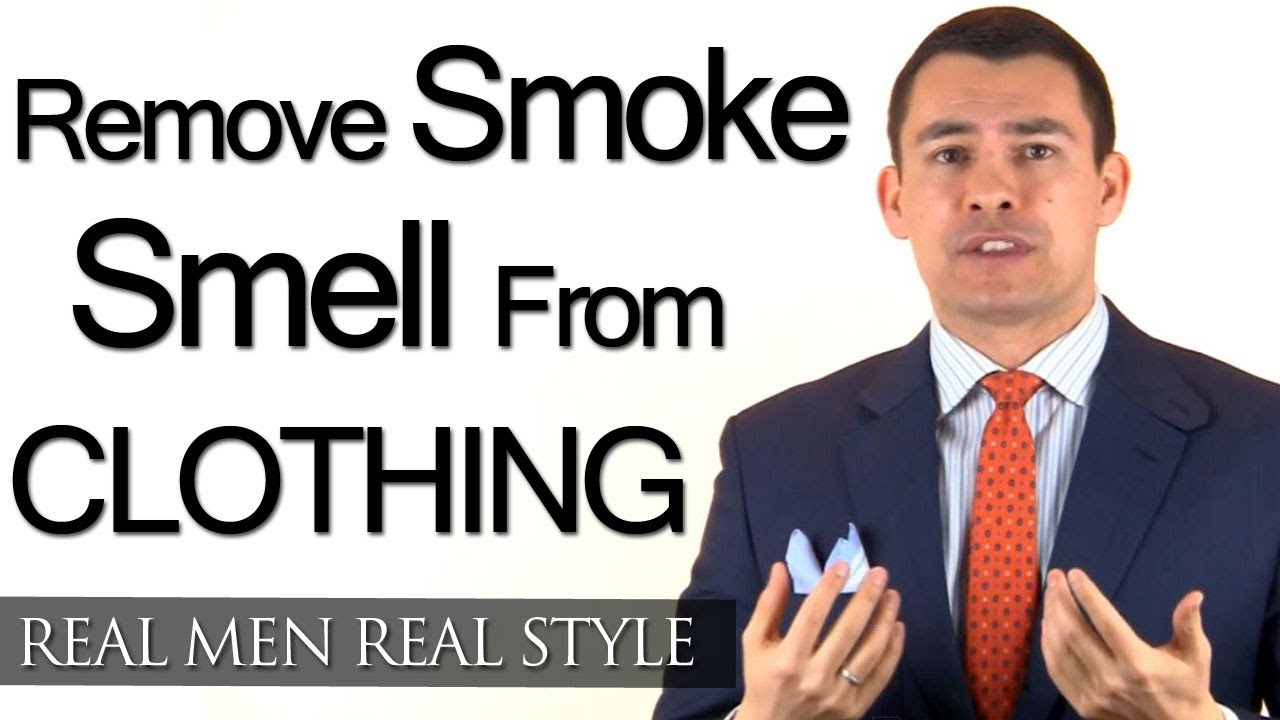 how to remove smoke smell from mens clothing removing cigarette cigar smoking scent youtube. Black Bedroom Furniture Sets. Home Design Ideas