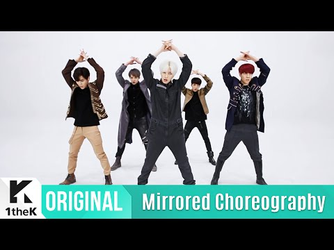 [Mirrored] Boys Republic(소년공화국) _ Get Down Choreography(거울모드 안무영상)_1theK Dance Cover Contest